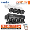 SANNCE 8CH 720P DVR Kit 1080P HDMI CCTV System 8PCS 720P bullet & dome CCTV Security Cameras 8ch Surveillance Kits