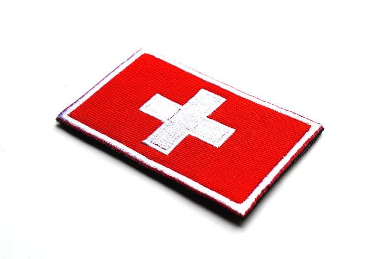 Winterjacke schweizer symbol