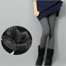 86fc051b9 Engrosamiento de terciopelo invierno maternidad pantalones ropa para  mujeres embarazadas de cintura alta cálida Liga embarazo