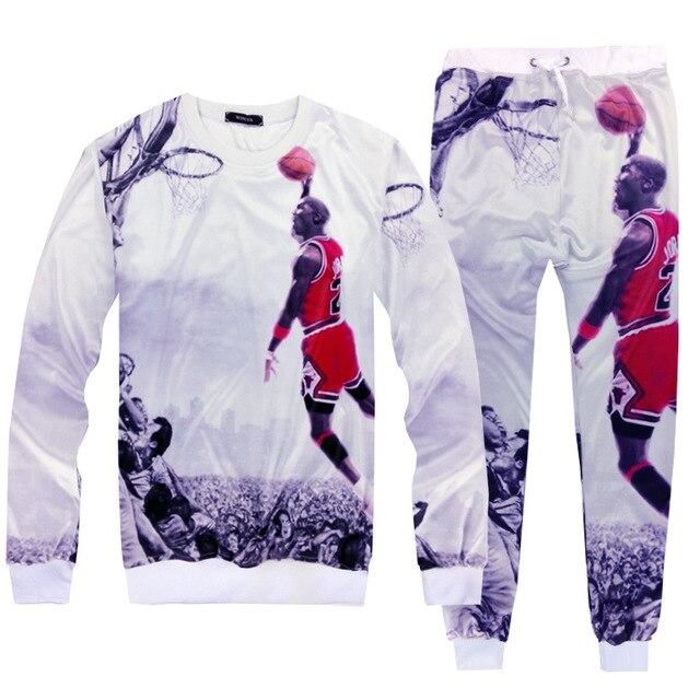 Michael  23 throwback basketball jersey sweatshirt Air Jordan future tracksuit  men sport suit 05c205d8063c