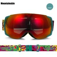 Mountainskin Men S Women Winter Ski Goggles Double Outdoor Sport Anti Fog Snowboarding Cycling Skiing Hiking