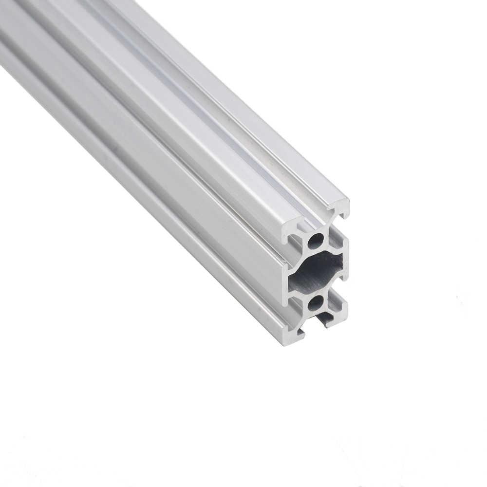 Części do drukarek 3D CNC 2040 profil aluminiowy norma europejska anodyzowana szyna liniowa profil aluminiowy 2040 wytłaczanie 2040 część CNC