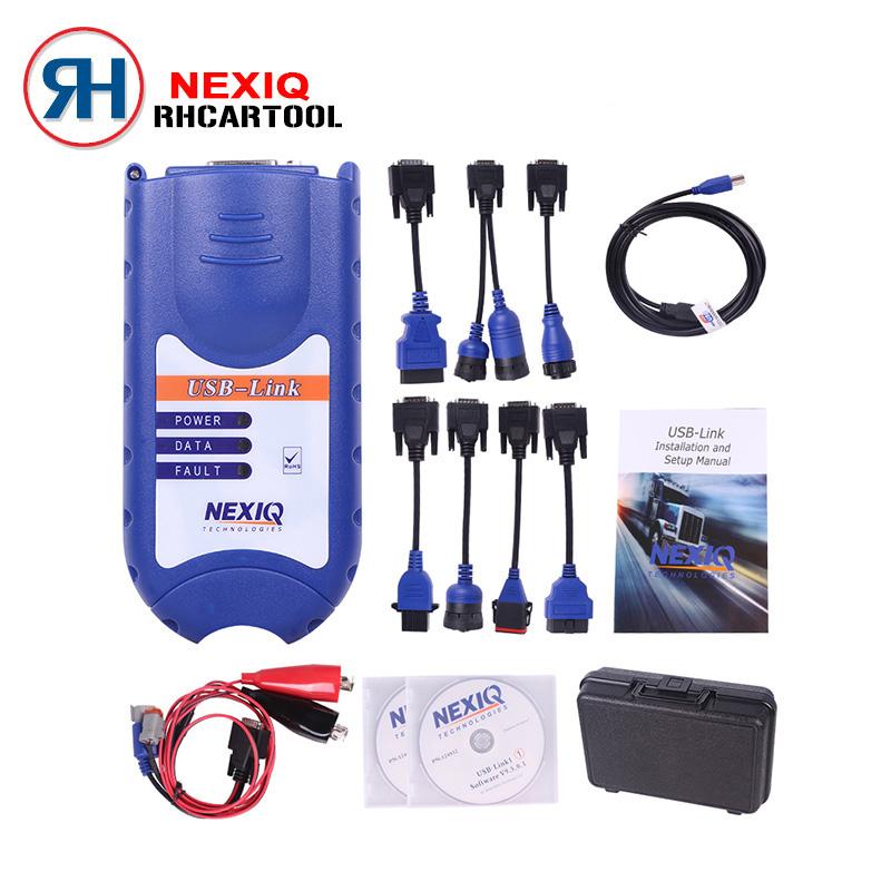 Prix pour 2017 Nouvelle arrivée NEXIQ Auto Heavy Duty Truck Scanner outil NEXIQ USB lien mieux que DPA5 sur vente nexiq 125032 usb lien DHL Livraison