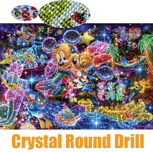 db73cac716 Full 5D Crystal Round Drill Diamond Painting