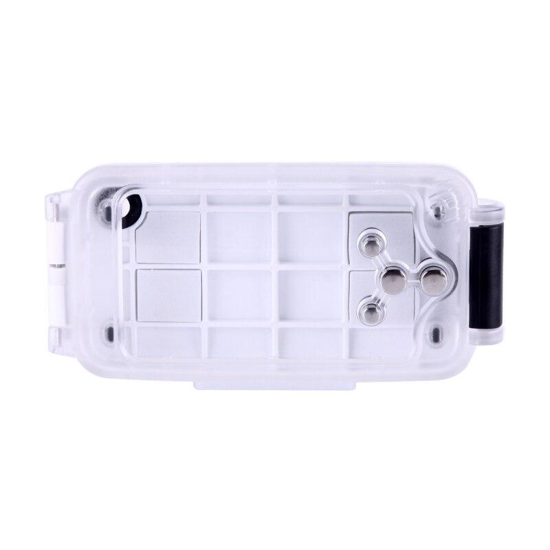 Voor iPhone 8 Plus Case Water Proof Onderwater 40m Waterdichte Duiken Behuizing PC + ABS Beschermhoes Voor iPhone 6s Plus 7 Coque - 3