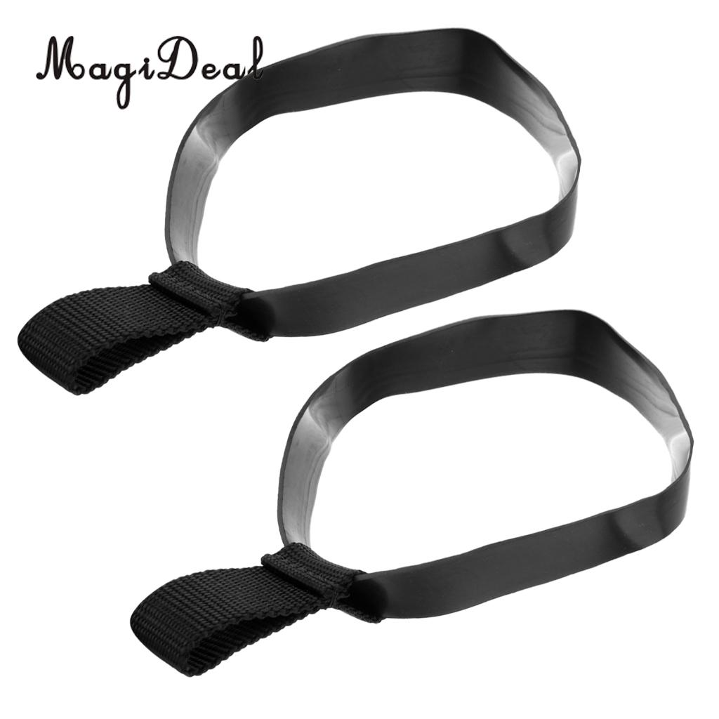 4Pcs Large Replacement Rubber Hose Retainer Band for 12L Dive Stage Bottle