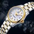 Карнавальные женские часы люксовый бренд женские Автоматические механические часы женские сапфировые водонепроницаемые часы relogio feminino ...