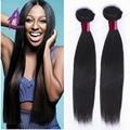 Peerless 7A cabelo virgem reta peruano 3 Pcs Alimoda Empresa Cabelo Feixes de Cabelo Em Linha Reta 100% Peruano Cabelo Humano Em Linha Reta