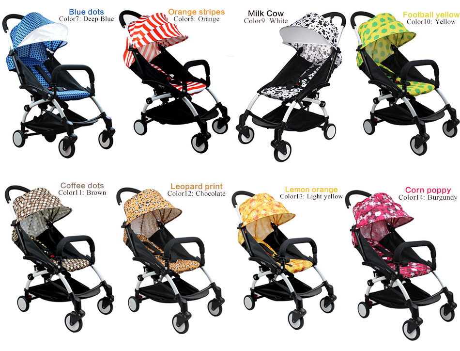 Yoya bebé plegable paraguas coche cochecito de bebé carro chico Kid ...