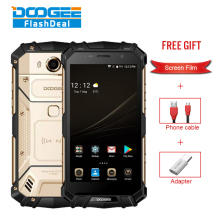 DOOGEE S60 IP68 Waterproof Smartphone 6GB+64GB 5.2″ Helio P25 Octa Core 4G Android7.0 5580mAh 21.0MP Global Version Rugged Phone