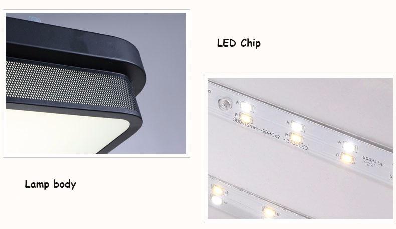Plafoniere No Led : Modern ceiling light lamparas de techo plafoniere lampara