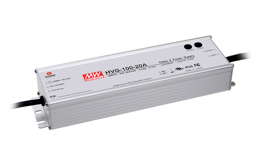 цена на [Cheneng]MEAN WELL original HVG-100-20D 20V 4.8A meanwell HVG-100 20V 96W Single Output LED Driver Power Supply D type