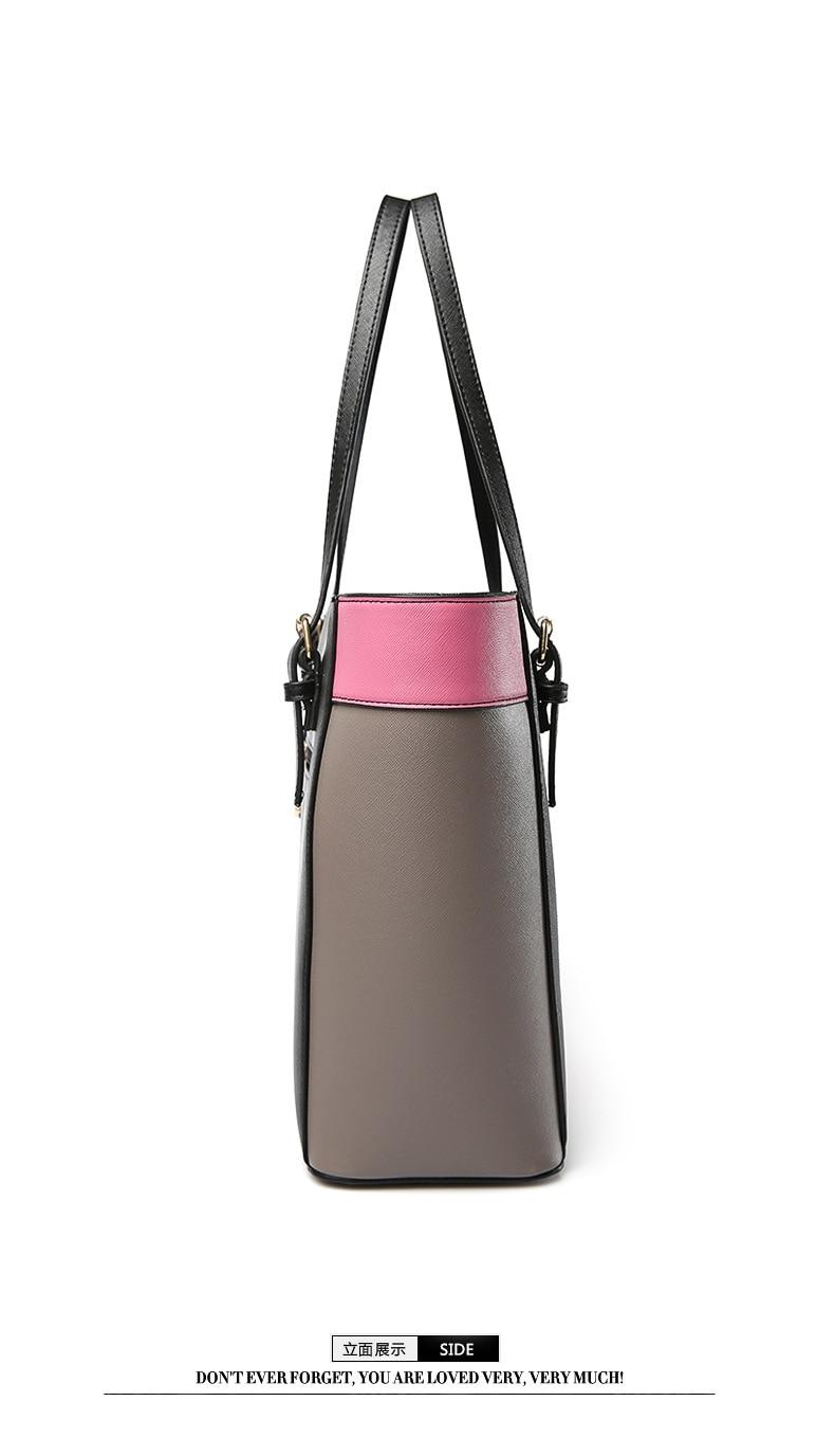 ocasional tote rivet hobos bolsa Material : PU Leather