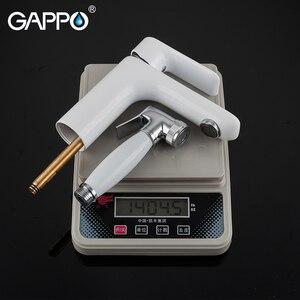 Image 5 - Смеситель для биде GAPPO, латунный кран для ванной комнаты, биде, туалета, хромированный, зеркальный