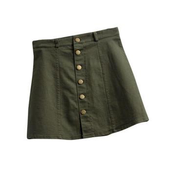 Denim Skirt YEL 5