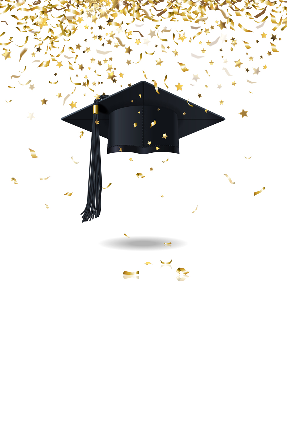 HUAYI 2018 Graduation Hat Backdrops School Students ...