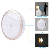 Body Infrared USB Rechargeable Wireless Motion Sensor Magnetic LED Night Light Cabinet Bedside Home Light