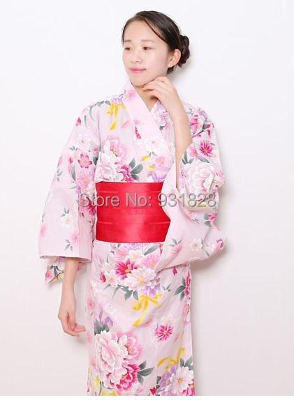 Giapponese Raso Femminile Abito Di Giappone Kimono Donna cj3LRA54q