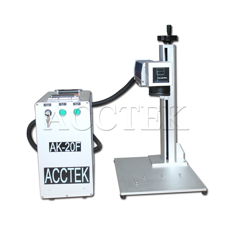 Fiber Laser Marking Machine 30w,20w Mini Color Fiber Laser Marking Machine For Metal/Mini Fiber Laser Marker Machine