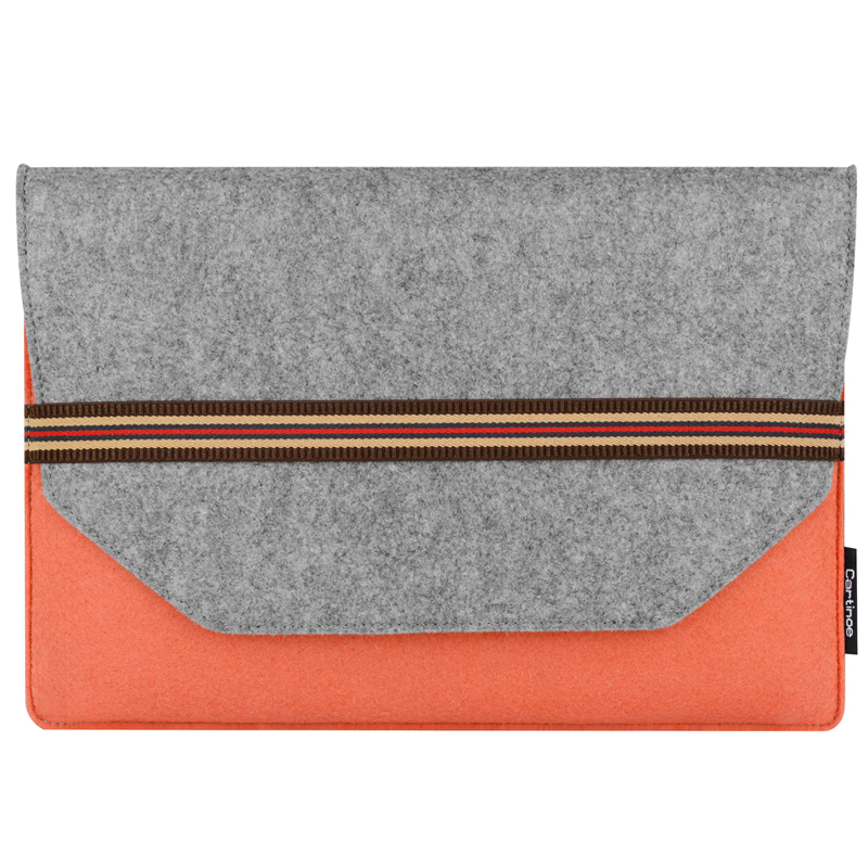 Cartinoe 2018 Fashion Wool Felt Sleeve Bag For Macbook Pro Retina 11 13 15 Notebook Flip Laptop Cover for HP Carrying Handle Bag