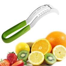 De Acero inoxidable máquina de Cortar La Sandía Corer del Cortador de Acero Inoxidable Cuchillo de Fruta Primicia Cuidando Da Herramienta