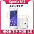 Abierto Original Xperia m2 D2303 Teléfonos Celulares Android OS Quad Core 4.8 pulgadas de pantalla táctil 8MP envío gratis Reacondicionado