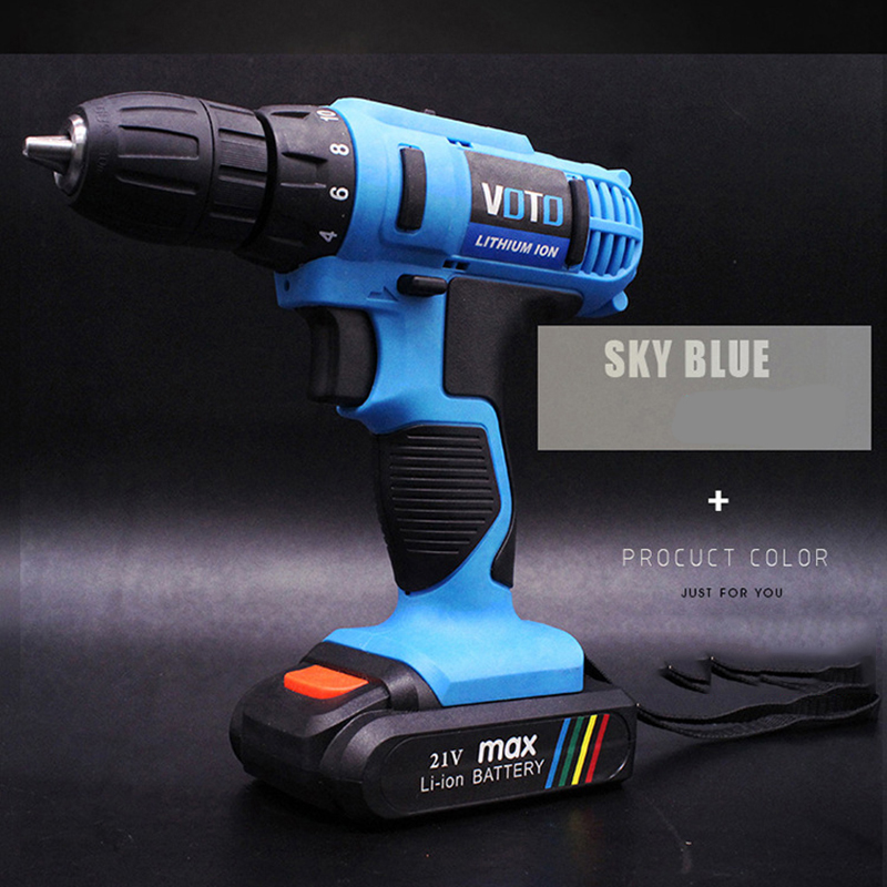 21V Electric Impact Wrench Cordless Rechargeable 7800Ah Lithium Battery Car Socket Electric Impact Drill