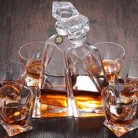 Вина Стекло es набор кристалл Кубка Вино Виски Стекло стакана холодной чашки набор винный погреб пить набор