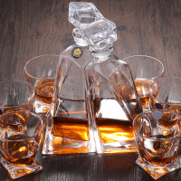 Wine Glasses Set Crystal Whiskey Cup Wine Glass Cup Cold Cups Set Wine Cellar Drink Set