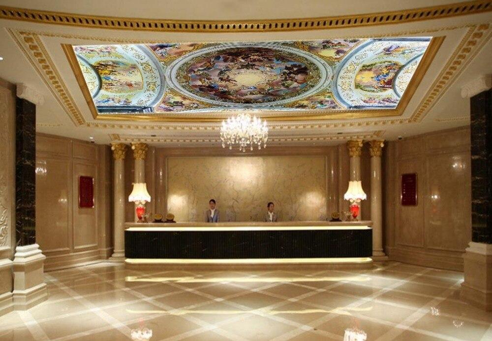 3d ceiling murals wallpaper Heaven angel zenith 3d customized wallpaper ceiling wallpaper in Wallpapers from Home Improvement