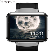 ITORMIS Android Smart Watch Smartwatch Wristwatch Big Battery 3G SIM WiFi Camera GPS MTK6572 Dual Core 4G ROM 512 RAM DM98 цена