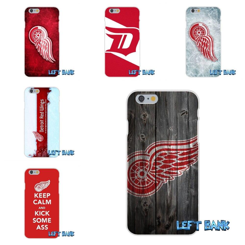НХЛ Хоккей Detroit Red Wings кремния мягкий чехол для телефона для Samsung Galaxy A3 A5 A7 J1 J2 J3 J5 J7 2015 2016 2017