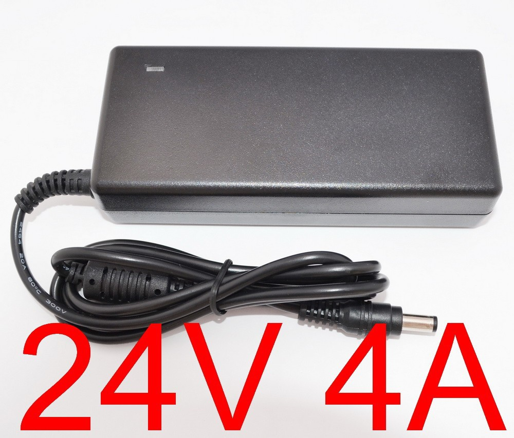 20pcs Adequate power 24V4A AC 100V 240V Converter Adapter DC 24V 4A 96W Power Supply DC