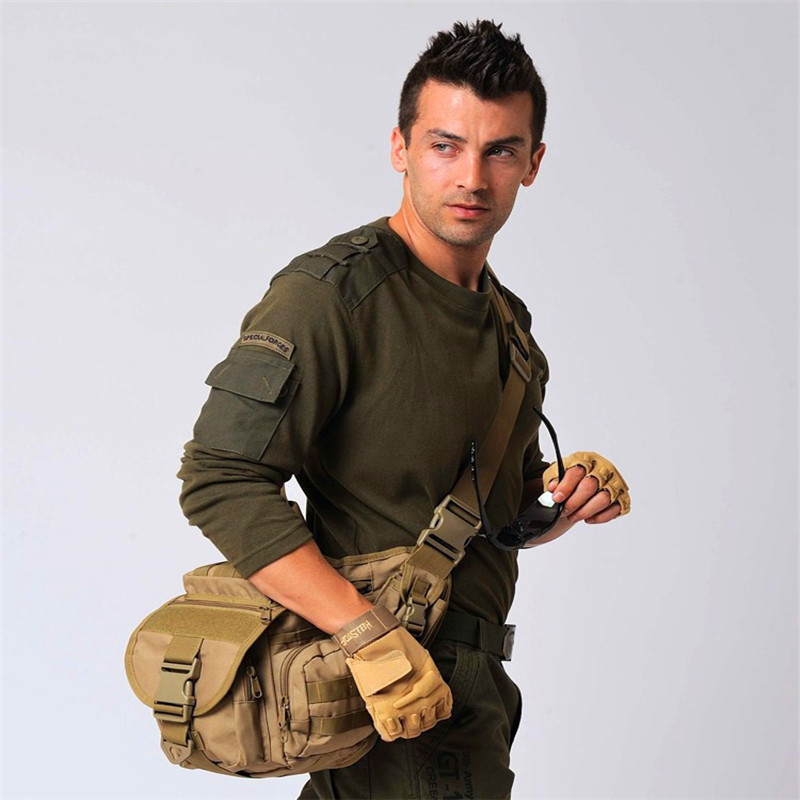 Tactical Hunting Fishing Camping Equipment Outdoor Sports bags Wading Chest Pack Cross body Sling Single Shoulder BagsMen Unisex - CS Supermarket Store store