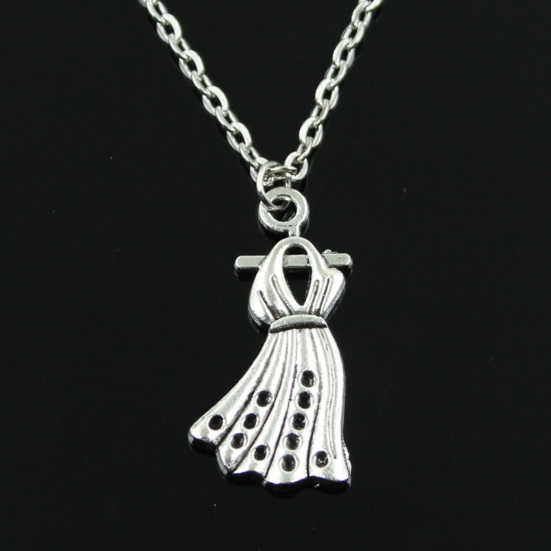 new fashion skirt dress cloth Pendants round cross chain short long Mens Womens silver necklace Jewelry Gift