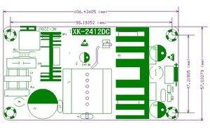 Image 2 - AC do DC 110V 220V do 24v DC 6A 150W przemysłowy zasilacz konwerter moduł LED sterownik wzmacniacz mocy pokładzie mocy