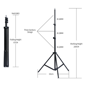Image 5 - Photography Softbox Light kit 20W E27 LED Photo Light Box for Flash Studio Light Camera Lighting Equipment With Carry Bag