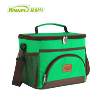 KinNet Cooler Bag Thickened Thermal Insulation Bag Fabric Of Oxford Aluminum Foil Liner 12L Portable Fresh