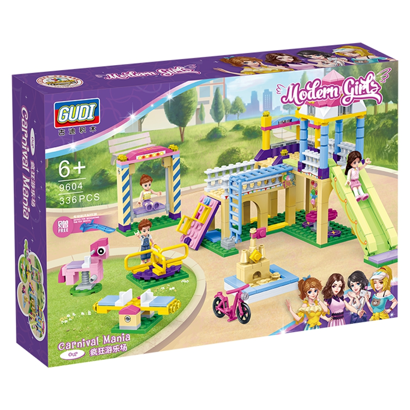 carniva Heartlake City Playground Building Blocks Bricks Education Sets Toys for Girls Gift Compatible with Friends Blocks  - AliExpress