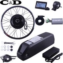 E-bike Electric Bike Conversion kit 48V 1000W Driect Drive Motor MXUS brand 48V13AH Super Bottle Battery LED LCD  Optional