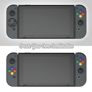 Image 4 - Kit de botões 10 em 1 para nintendo switch, botão analógico de controle de videogame e capa d pad para nintendos switch acessórios ns joycon