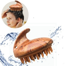 1 Pcs Spa Slimming Massage Hair Shampoo Brush Silicone Head Body Scalp Massage Comb Shower Bath Brush Hair Washing Comb