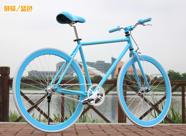 Neue X-Front Marke Luminous High-Carbon Stahl Fixed Gear Retro Bike - Radfahren - Foto 5