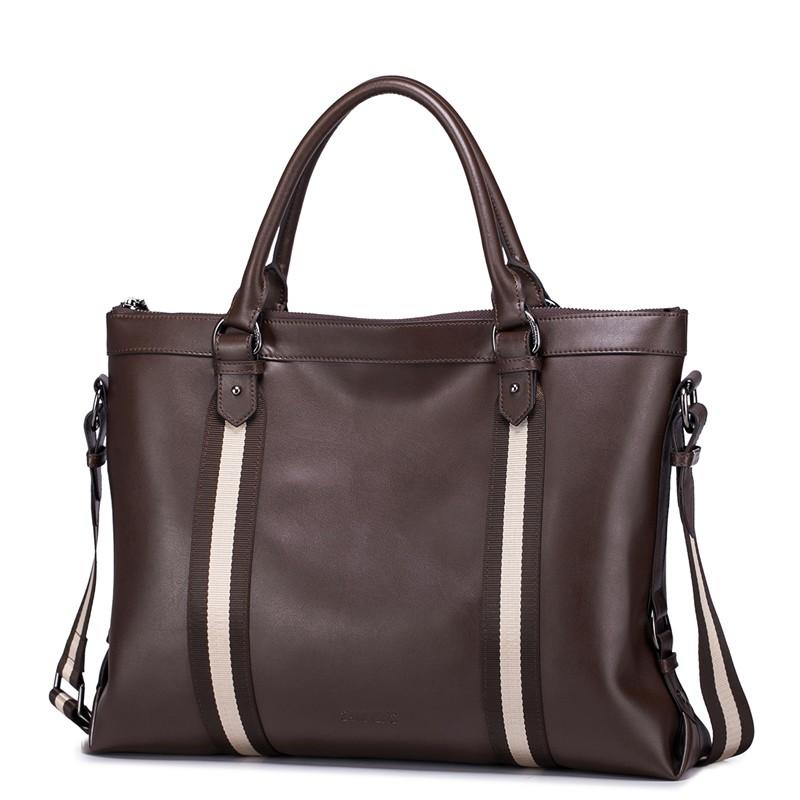 SAMMONS men genuine leather briefcase  190209-05_01