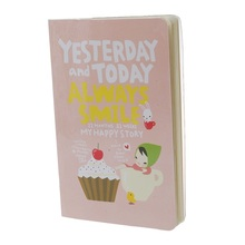 Cute Notebook Red Hat Girl Agenda Week Plan Diary Day Planner Journal Record Stationery Office School Supplies Pink