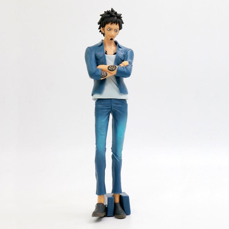 Bene 20 Cm Giapponese Figura Anime One Piece Trafalgar Law Jean Ver Action Figure Da Collezione Modello Giocattoli Classici Per I Ragazzi Ultimi Design Diversificati