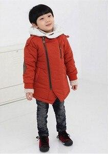 Image 5 - เด็กเสื้อแจ็คเก็ต2020ฤดูหนาวแจ็คเก็ตแจ็คเก็ตเด็กHooded Warm Fur Outerwearเสื้อสำหรับชายเสื้อผ้าวัยรุ่น8 10 11 12ปี