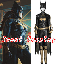 High Quality Batman Arkham Knight Batgirl Costume Adult Women Halloween Cosplay Costume Custom Made(China)