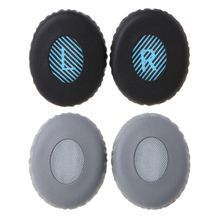 1 Pair Headphone Earpads Ear Pads Protein Foam Earbuds Soft Cushion Cover Replacement for OE2 Bluetooth Earphones