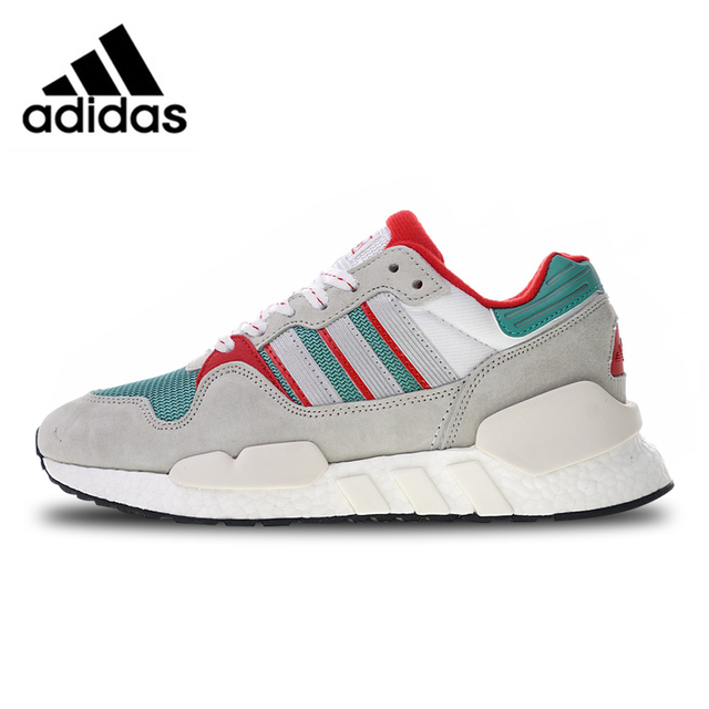 bb39bc633 Adidas Originals EQT ZX Boost Sports Shoes Gray Green Red Running Shoes For  Men And Women G26806 36-45 EUR Size U